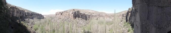 Vallée d'Ilhara en Cappadoce en Turquie