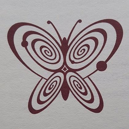logo papillon du musée de l'innocence d'Orhan Pamuk à Istanbul