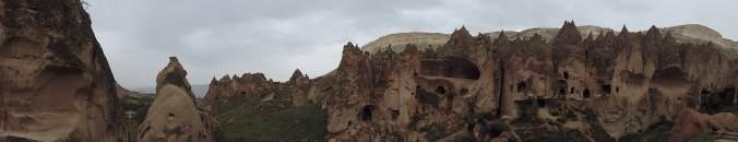 musée de plein air de Zelve, Cappadoce, Turquie