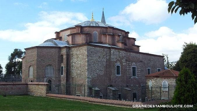 kuçuk ayasofya ou petite sainte-sophie, ancienne église saint-serge et saint-bacchus, aujourd'hui mosquée, à Istanbul Turquie