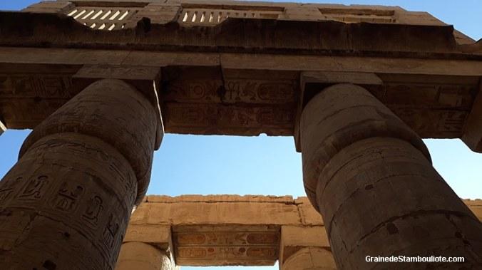 temple de Karnak, Louxor, Thèbes, Egypte