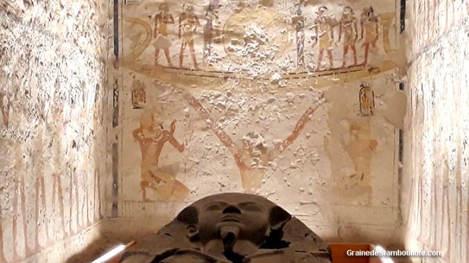 vallee des rois, louxor, thèbes, Egypte, tombe Ramses VI, sarcophage