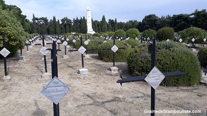 cimetière français de Gallipoli, Bataille des Dardanelles face à Canakkale, première guerre mondiale
