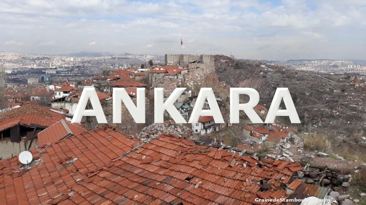 visite Ankara, capitale de Turquie, vue depuis les remparts de la citadelle