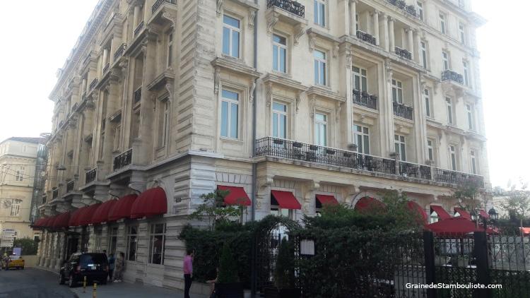 hôtel Pera Palace Istanbul, comment choisir son hôtel à Istanbul