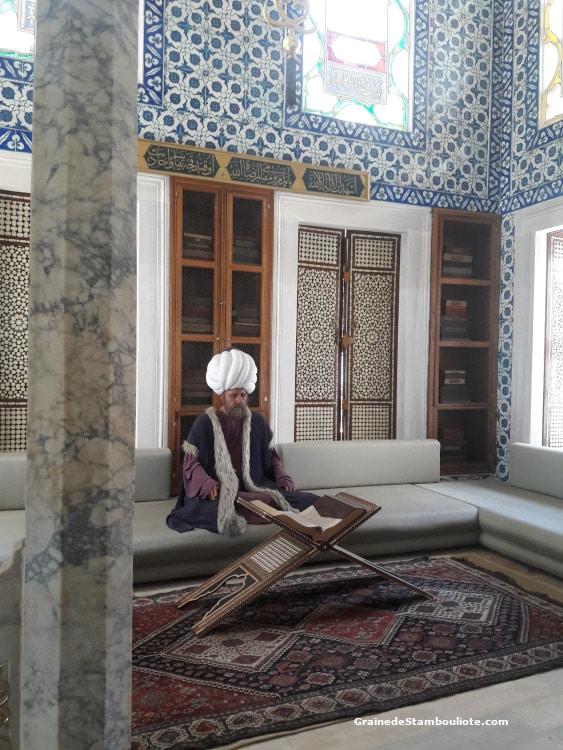 Palais Topkapi, Bibliothèque du Sultan Ahmet III, Istanbul