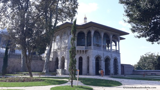 Palais Topkapi, Istanbul, Ottoman, Kiosque de Bagdad