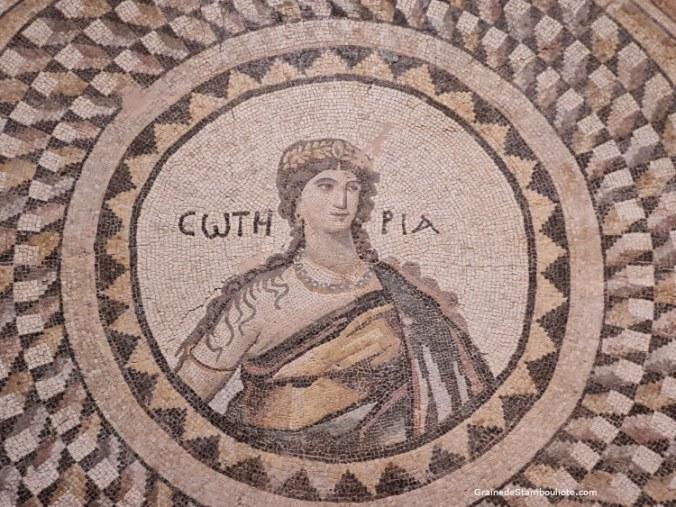 mosaïque musée archéologique Antakya, Hatay, Turquie
