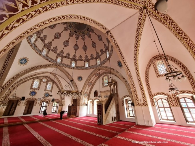 mosquée Habibi necar d'Antakya, Hatay, Turquie, ancienne église Franque