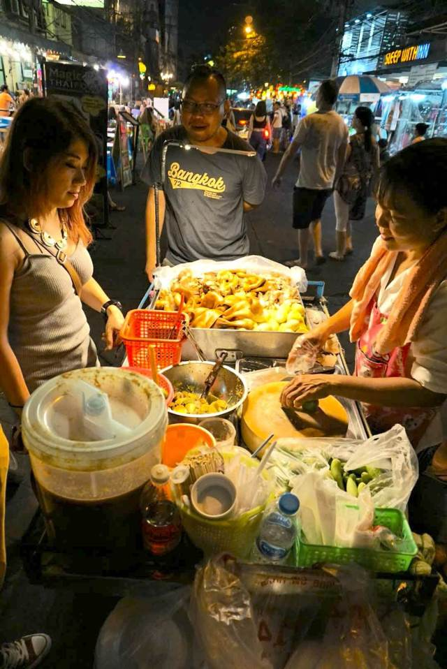 street-food thailande marchands ambulants bangkok