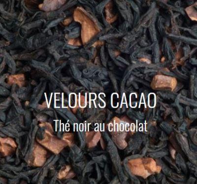 Thé noir au chocolat velours cacao
