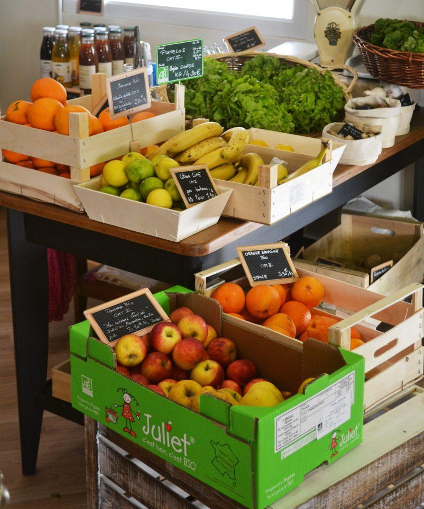 Epicerie Fouesnant fruits et légumes