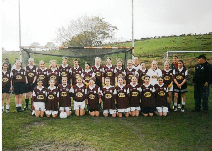 Galway U14 Squad pictured in Tullycross prior to their challenge match v Grainne Mhaols juniors.