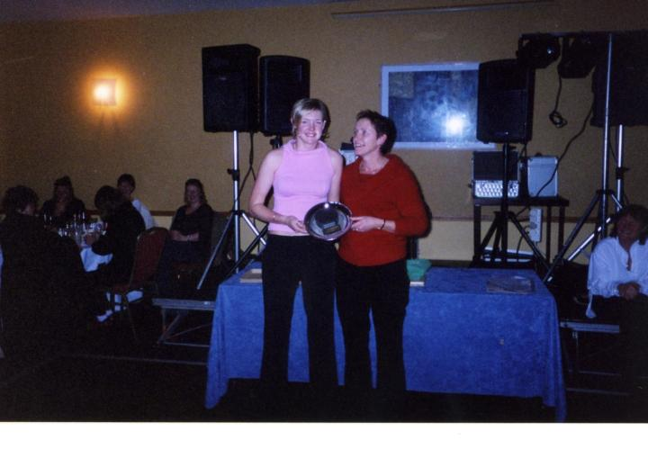 Lisa Coohill was the recipient of a Special Award at the 2003  Grainne Mhaols Annual Social in the Station House Hotel Clifden, in recognition of her outstanding achievements at inter-county level. She was presented with same by her mother Angela.