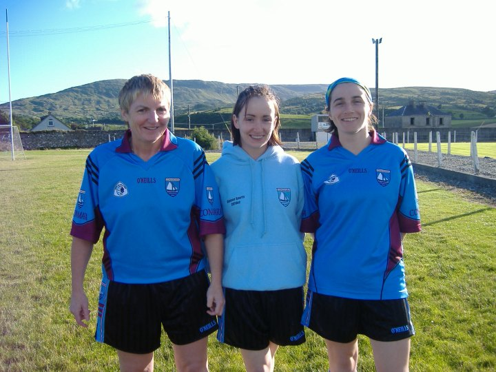 Maire and brid at conn training in clonbur