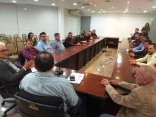 Encontro do prefeito e vereadores de Grajaú com o vice-governador 02