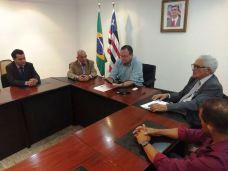 Encontro do prefeito e vereadores de Grajaú com o vice-governador 06