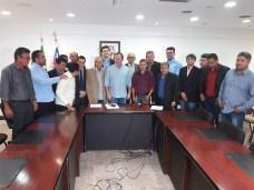 Encontro do prefeito e vereadores de Grajaú com o vice-governador 09