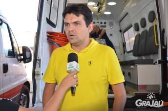 Grajau recebe duas ambulancias do SAMU e uma retroescavadeira 04