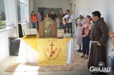 Reliquias de Sao Francisco de Assis na prefeitura 04
