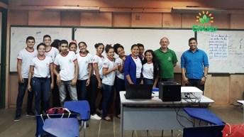 Palestra escolas com tecnicos da SECAP 04