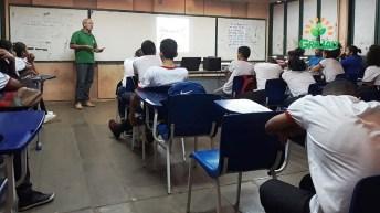 Palestra escolas com tecnicos da SECAP 05