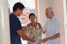 Carlos Neta visita o Jornal Grajaú de Fato (Francisco Matias)