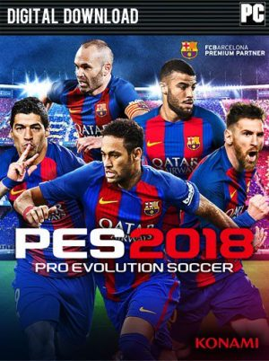 Pro Evolution Soccer 2018 za 37,13 zł – Gamesplanet