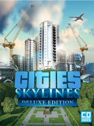 Cities: Skylines Deluxe Edition za £6.66 31.89