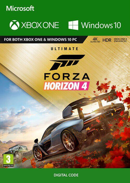 Forza Horizon 4: Ultimate Edition Xbox One/PC za 183.09 zł w CDKeys