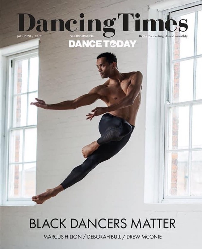 Dancing Times, July 2020 cover