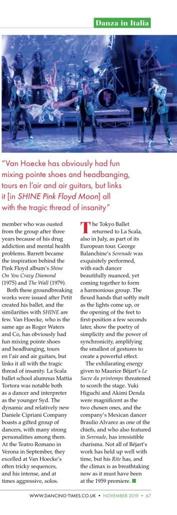 Dancing Times, November 2019