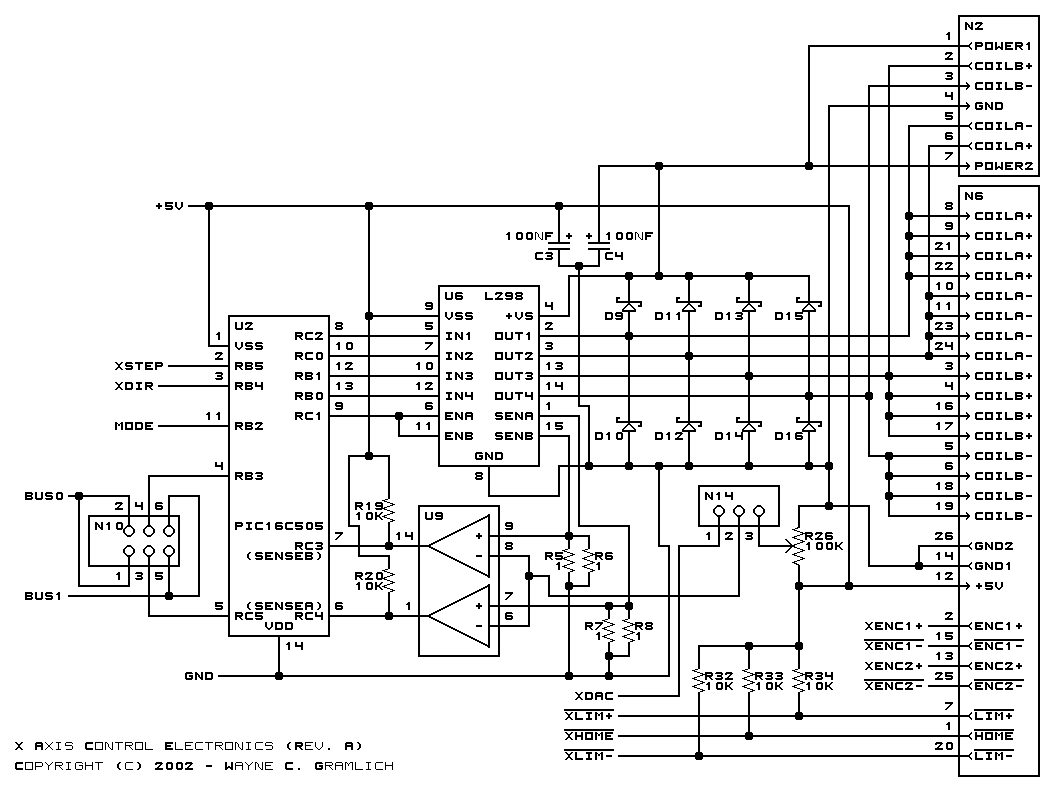 Cnc Controller Motion Board Rev A