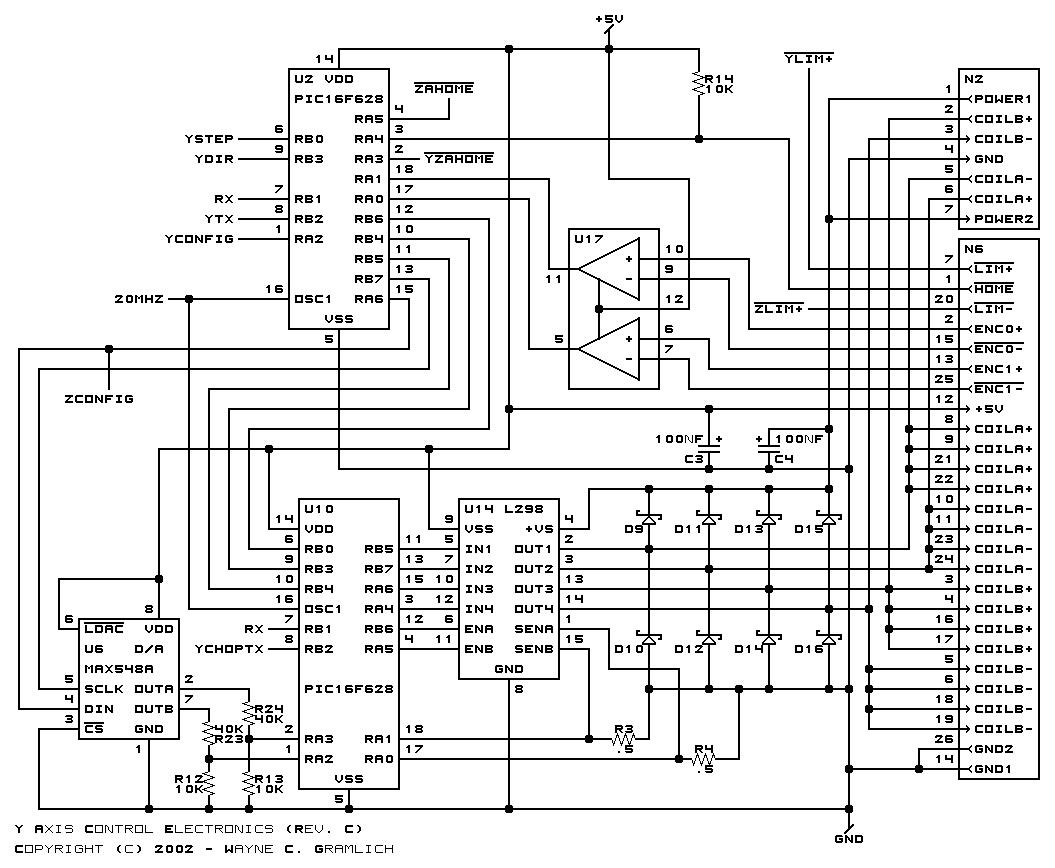 Cnc Controller Motion Board Rev C