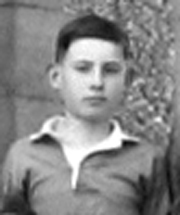 Walter Dowdall as a member of the Medallion XV in 1940-41
