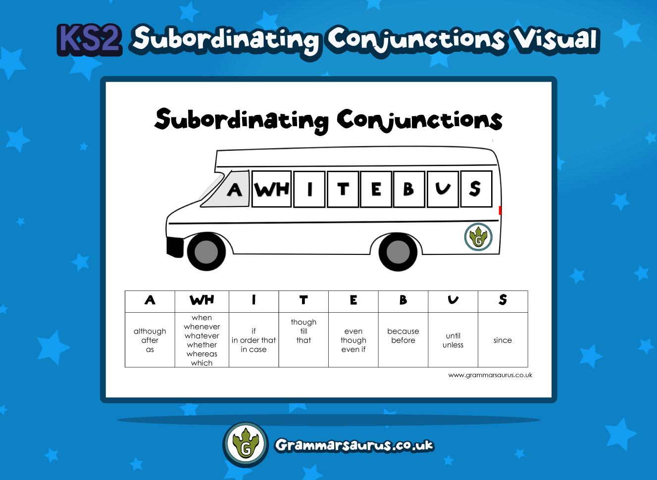 Ks2 Subordinating Conjunctions