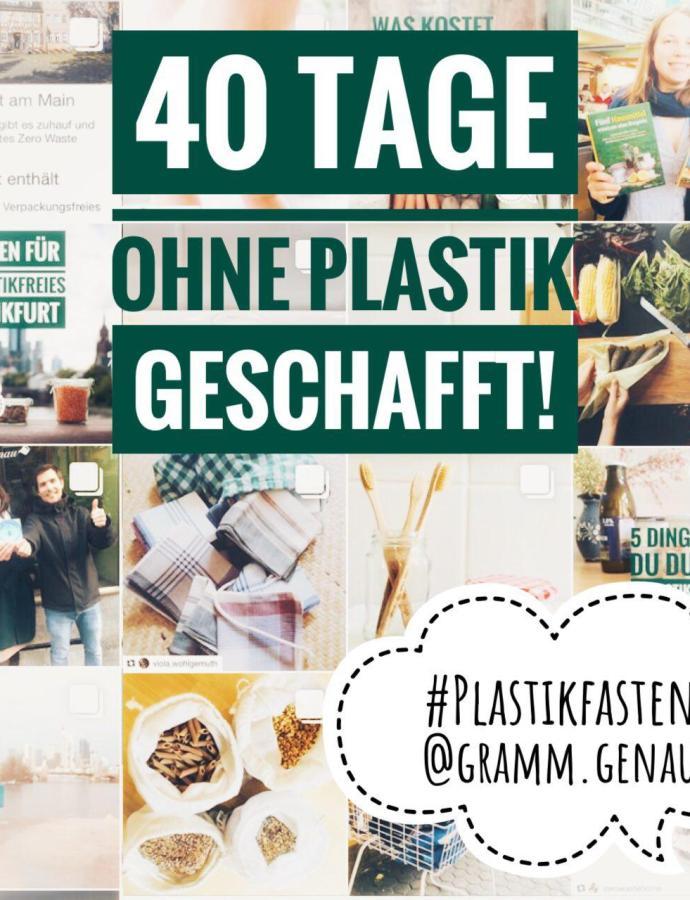 #Plastikfasten 2018 geschafft – und nun?