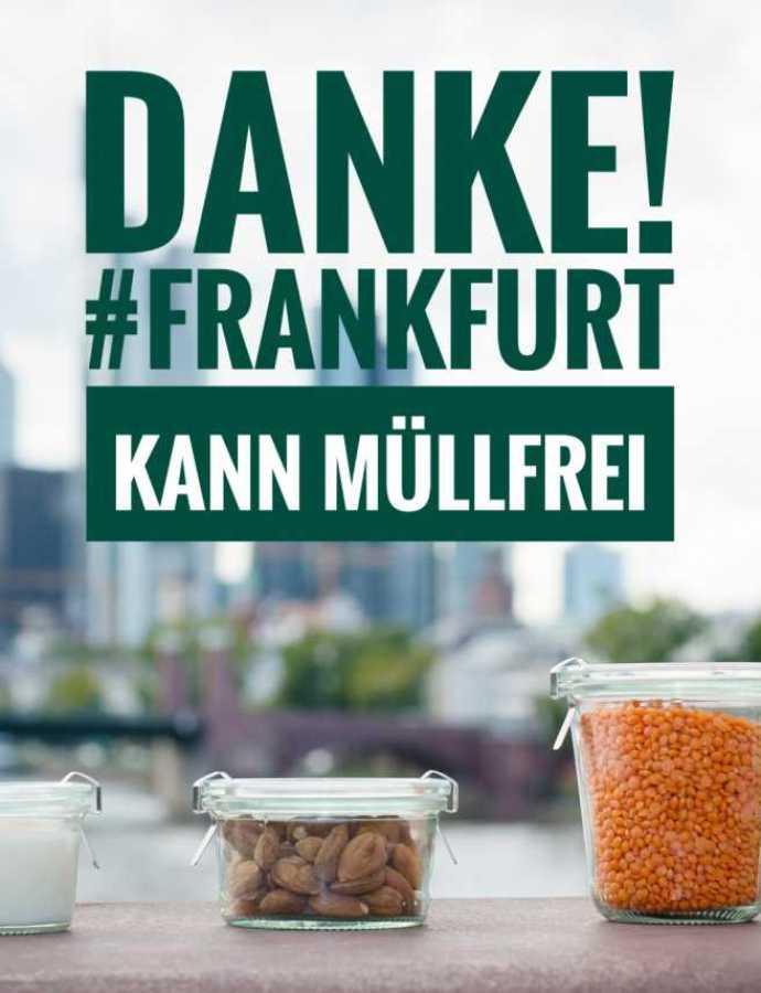 Projekt erfolgreich: Frankfurt bekommt ein Zero Waste Café – dank euch!