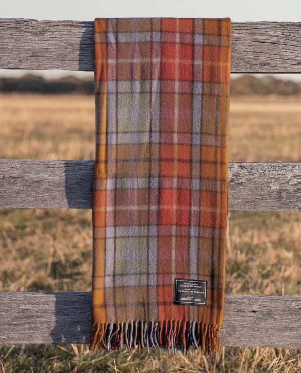 Autumn - Grampians Scottish Tartan Blankets