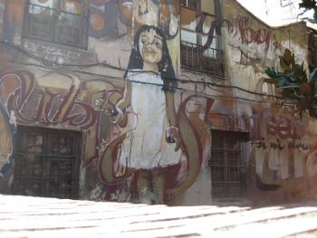 Graffiti in Granada (5/6)