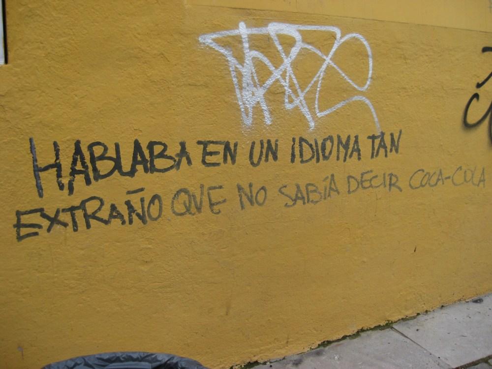 Political and Funny Graffiti in Granada (4/6)