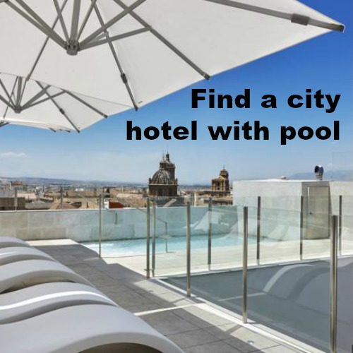 Granada hotels with pool