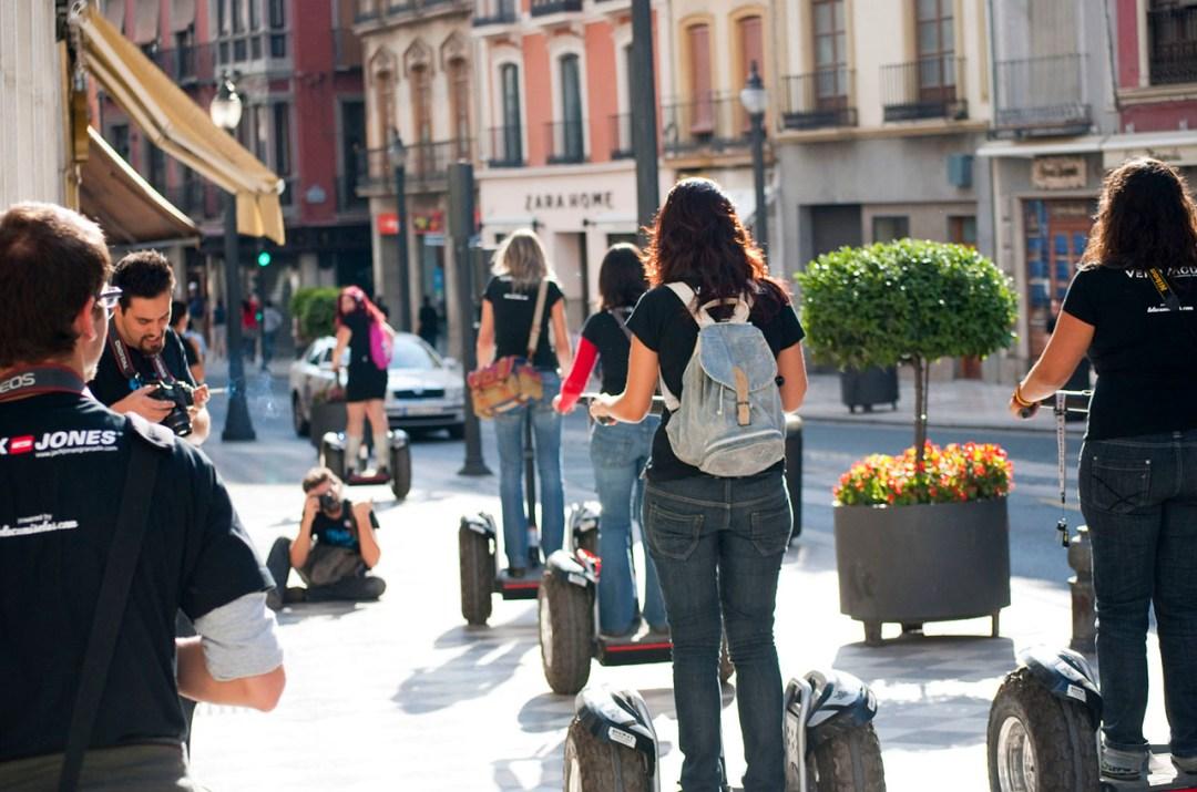 Segway tour In Granada