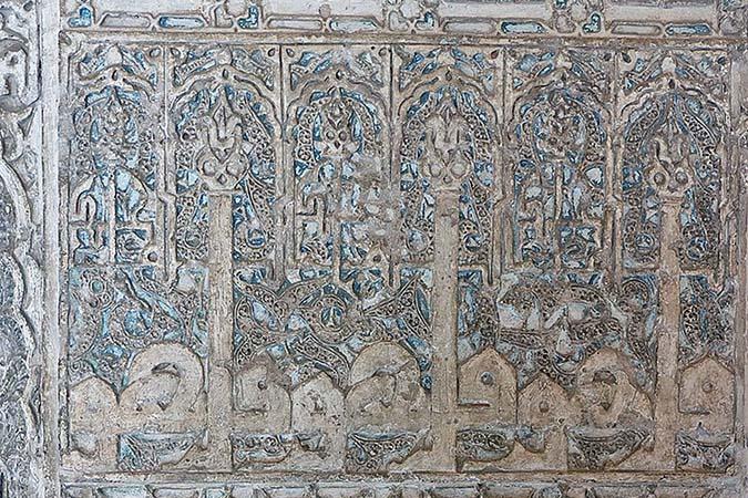 Cuarto Real de Santo Domingo, decorative detail