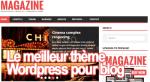 Le meilleur thème Wordpress pour créer votre blog