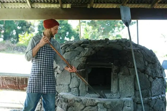 Portuguese wood fired bread oven