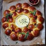 festive filled brioche