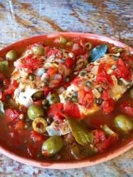 fish fillets in veracruzana sauce