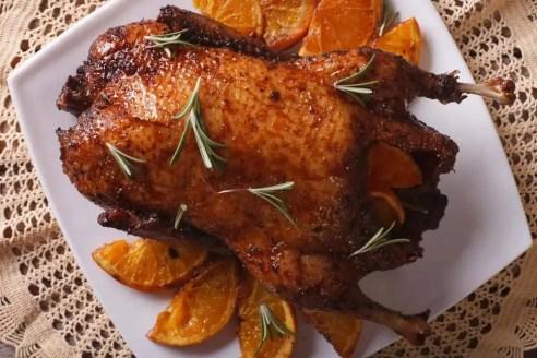 duck a l'orange - duck with orange