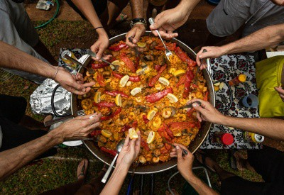 family fiesta paella